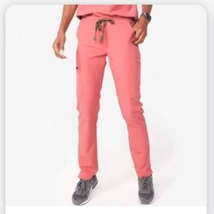 Figs pink Yola bottoms xxs/T